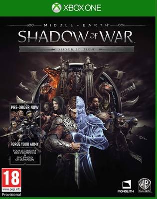 Mittelerde: Schatten des Krieges Silver Edition inkl. Steelbook & Forge Your Army DLC (Xbox One) für 18,89€ (Shopto)