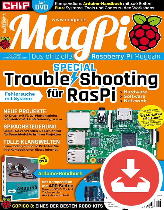 9 MagPi Sonderhefte kostenlos [Chip]