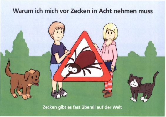 """JETZT WIEDER AKTUELL - Malbuch  """"vor Zecken in Acht nehmen"""" kostenlos anfordern !"""