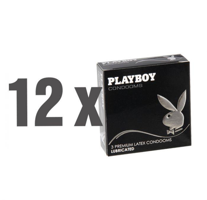 36x Playboy Kondom Lubricated (12x 3er Pack)