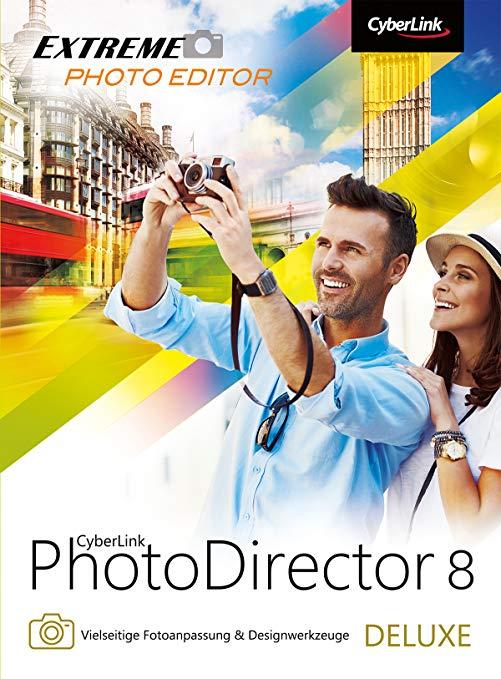 Cyberlink PhotoDirector 8 Deluxe kostenlos (Win/Mac)