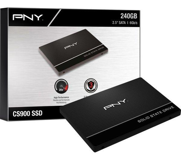 PNY CS900 2.5 Zoll SSD, Sata 6G - 120GB