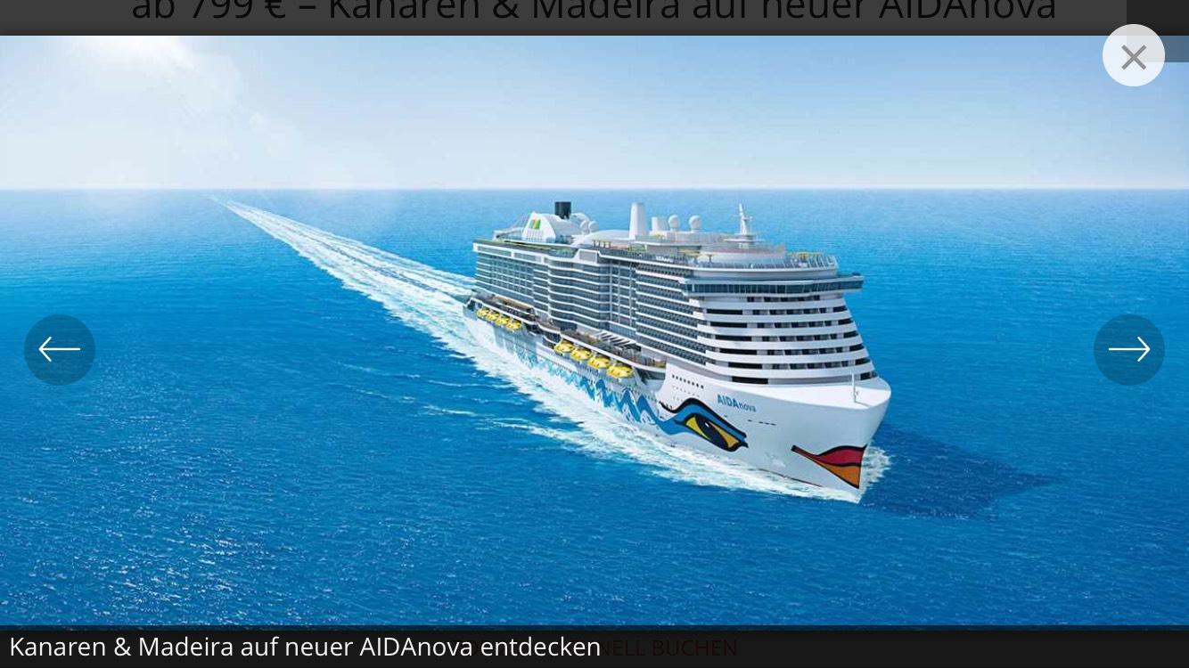 Kanaren und Madeira mit der neuen AIDAnova