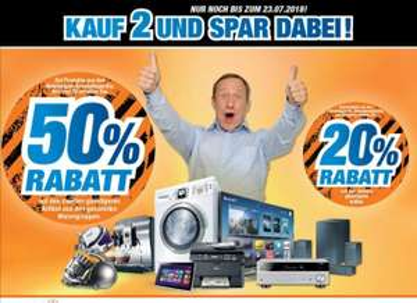 [Lokal Lingen] Expert - Spare 50% auf den günstigeren zweiten Artikel in TV, Hifi & Haushaltsgeräte
