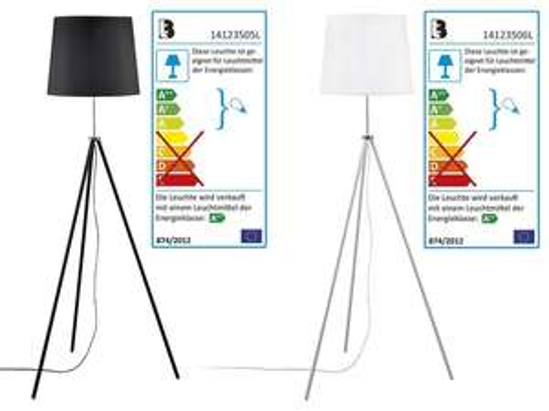 LIVARNO LUX LED Stehlampe Dreibein Lidl klassisch