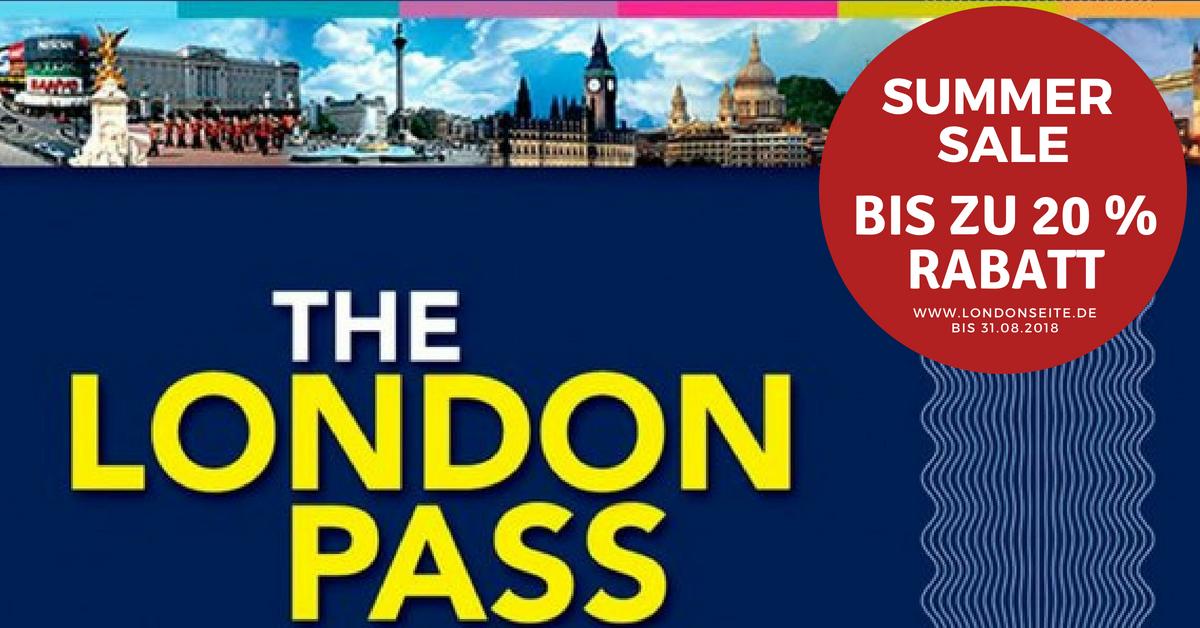Exklusiver Sale beim London Pass und London Explorer Pass