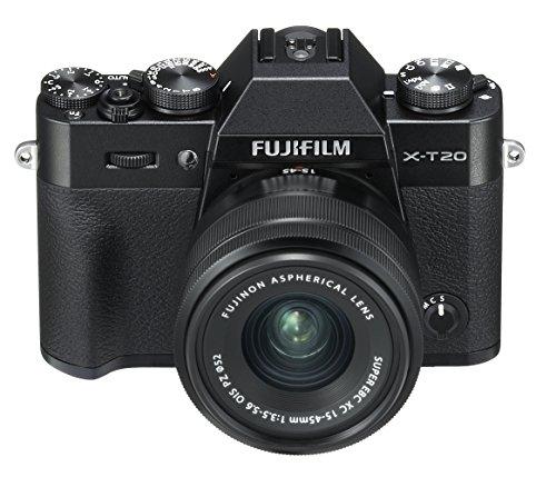 [Amazon.es] Fujifilm X-T20 Systemkamera (mit XC15-45mm Objektiv Kit, Touch LCD 7,6cm (2,99 Zoll) Display, 24,3 Megapixel APS-C X-Trans CMOS III Sensor) Schwarz