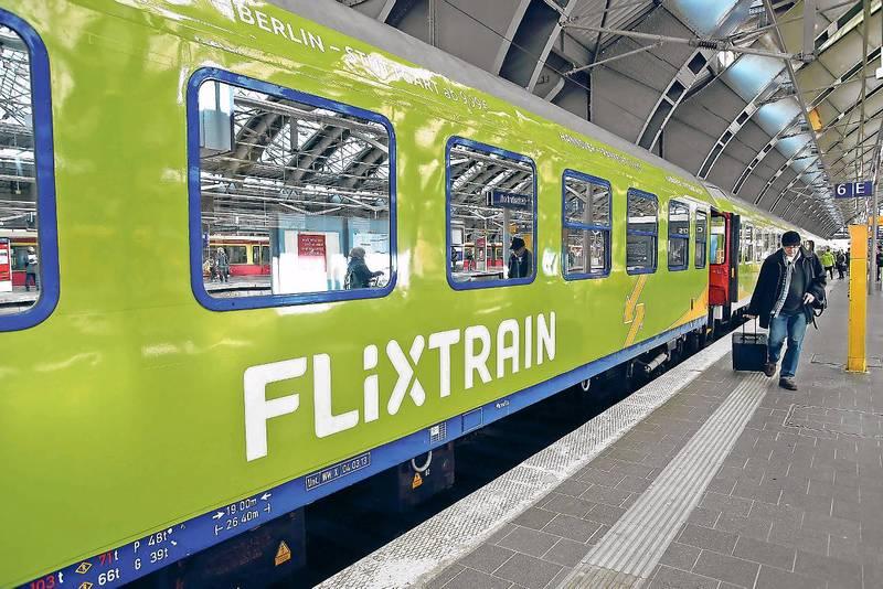 Flixtrain - 1. Fahrt Aug - 50% auf 2. Fahrt im Sep-Nov