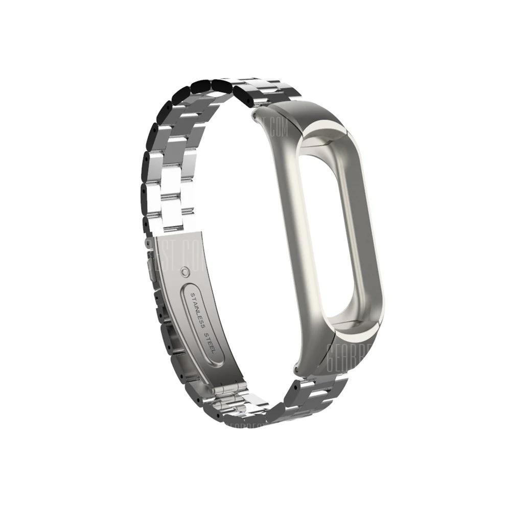 [Gearbest - App] Armband Silber für Xiaomi Mi Band 3
