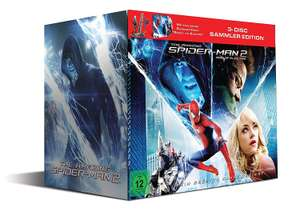 The Amazing Spider-Man 2: Rise of Electro (Special Edition inkl. Figur Spidey Vs. Electro + 3D Blu-Ray + DVD + UV Copy) & Collector's Edition (3D Blu-ray + 2D + DVD) für je 21,94€ (Alphamovies)
