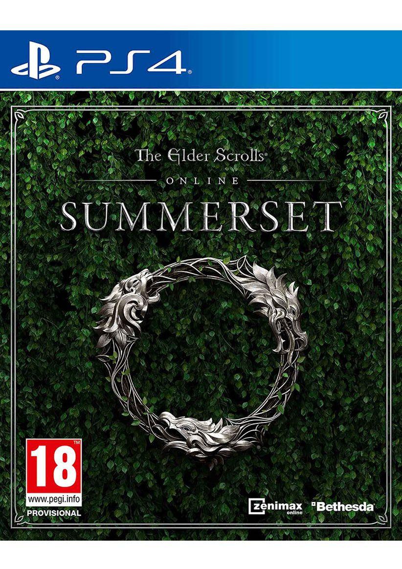 The Elder Scrolls Online Summerset Standard Edition (PS4 & Xbox One) für je 21,68€ (SimplyGames)