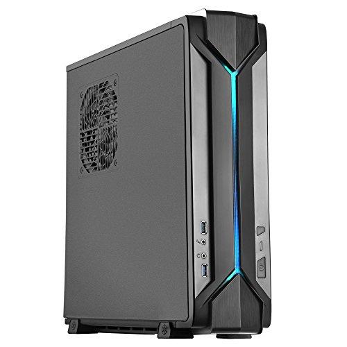 PC-Gehäuse für Gamer: SilverStone Raven Z RVZ03 schwarz, Mini-ITX/Mini-DTX (SST-RVZ03B)