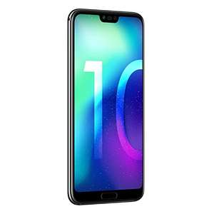 "Amazon/Cyberport: Honor 10 4GB/64GB schwarz, 5.84"" IPS, Kirin 970, Android 8.1, Dual-SIM / 367€ - 30€ Cashback"