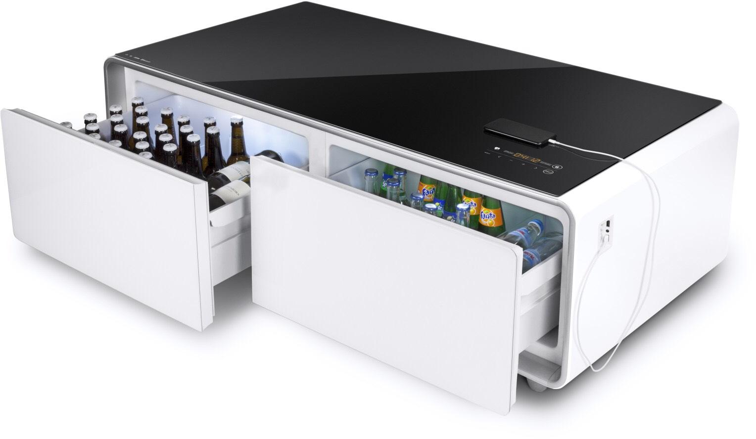 [Saturn]  Caso Sound & Cool Tisch mit Soundbar & Getränkekühler