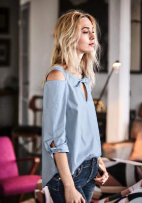 15% extra Rabatt auf den Sale bei Impressionen, z.B. Bluse von Sienna