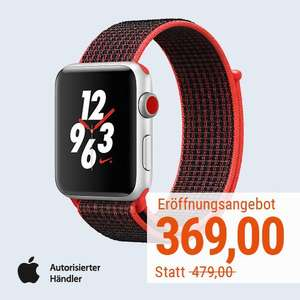 [Lokal Cyberport Store Nürnberg] Apple Watch Series 3 Nike+ LTE 42mm zum Bestpreis