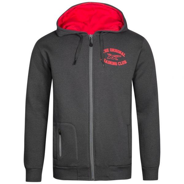 Asics Hoodie mit Kapuze in grau / rot oder blau für 15,15 zzgl. Versandkosten