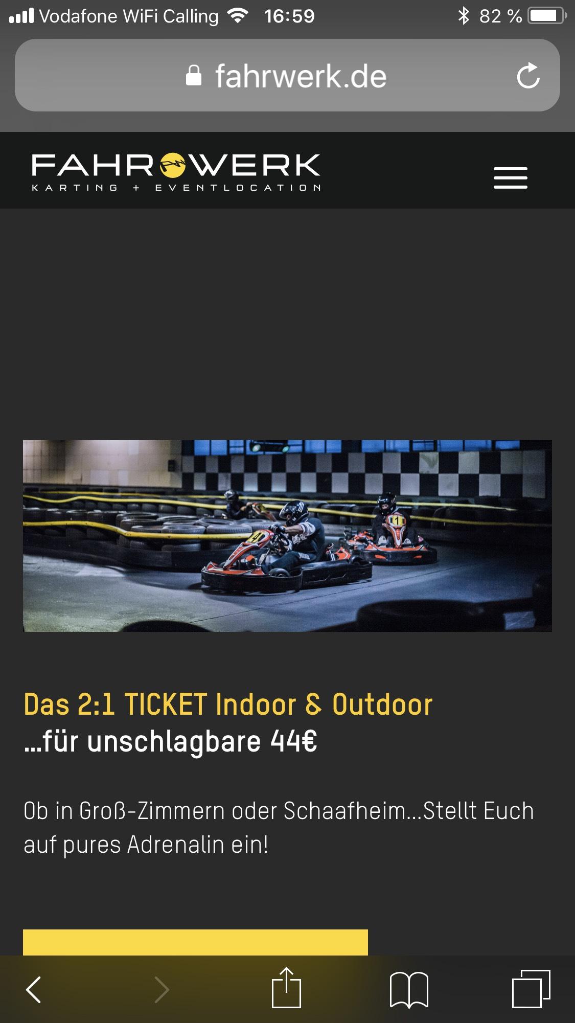 Lokal Schaafheim Groß Zimmern Gokart Fahrwerk
