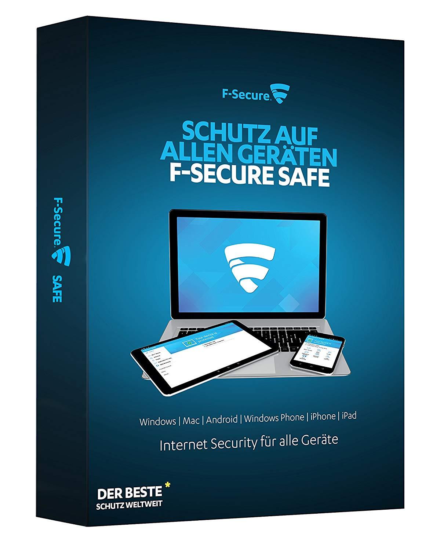 F‑Secure SAFE - 1 Jahr- 5 Geräte Kostenlos (UK-IP nötig)