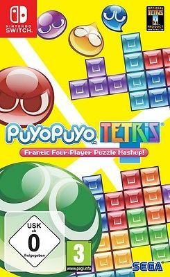Puyo Puyo Tetris(Switch) & Ultra Street Fighter 2: The Final Challengers (Switch) für 19,38€