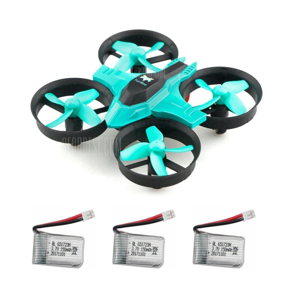 2x F36 Mini RC Drohne + 6 Akkus inkl. VSK (Gearbest)