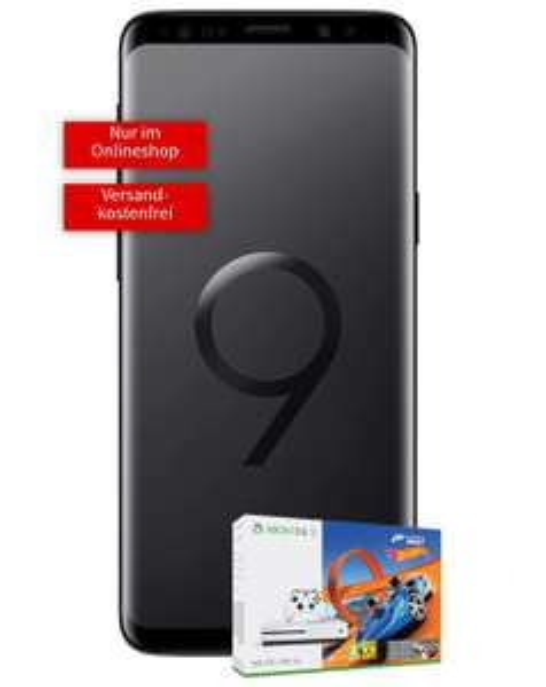 SamsungGalaxy S9+ Dual-SIM& Microsoft Xbox One S 500GB Konsole - Forza Horizon 3 + Hot Wheels Bundle weiß
