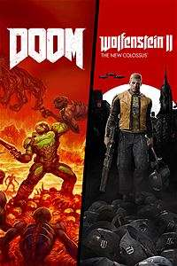 Doom + Wolfenstein II: The New Colossus Bundle (Xbox One) für 12,11€ (Xbox Store RU VPN Xbox Live Gold)
