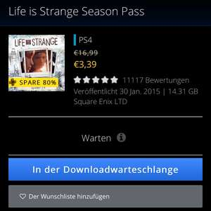 Life is Strange Season Pass PS4