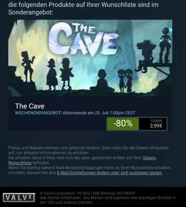 (steam) the cave (pc)