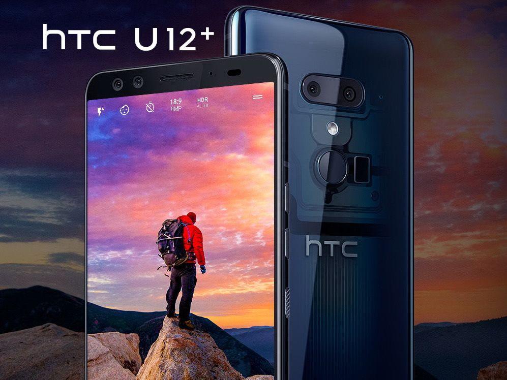 HTC U12+ im Magenta Mobil Vertrag mit 8 GB und 300 MBit/s