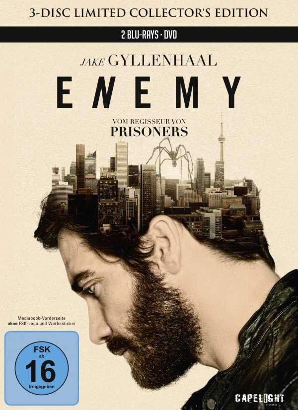 [jpc.de] Sammeldeal Mediabooks (Blu-ray + DVD) von Capelight für je 10,49€, u.a. Enemy und Hana-Bi - Feuerblume