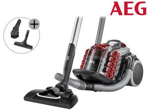 AEG LX9-2-TM-T X Staubsauger ohne Beutel (750 W, EEK A, 10 m Aktionsradius, Softräder, 1,8 l Staubbehälter, waschbarer Allergy Plus Filter) Ibood.de
