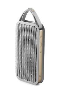 [brands4friends@eBay] Bang & Olufsen BeoPlay A2 Bluetooth Lautsprecher ( 24h Akku, 15 Watt) in Champagne Grau
