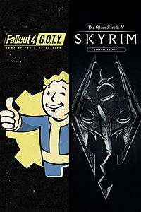 The Elder Scrolls V: Skyrim Special Edition + Fallout 4 Game of the Year Edition (Xbox One) Bundle für 18,32€ (Xbox Store RU VPN Xbox Live Gold)