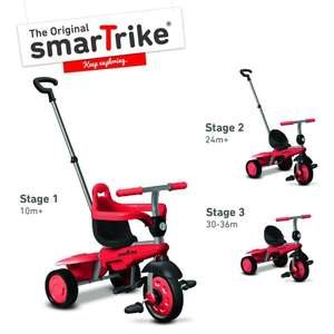 Smartrike Breeze Dreirad mit Schubstange; 10 - 36 Monate