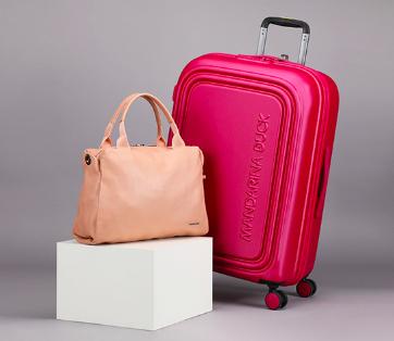 Mandarina Duck im Neuer Spotlight Deal bei Wardow: 50% Rabatt auf farbenfrohe Handtaschen und Koffer + 5% on top bei Vorkasse