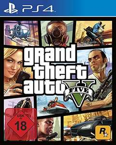 15% auf alle PS4 Spiele bei Müller: z.B. Grand Theft Auto V (PS4) für 21,25€