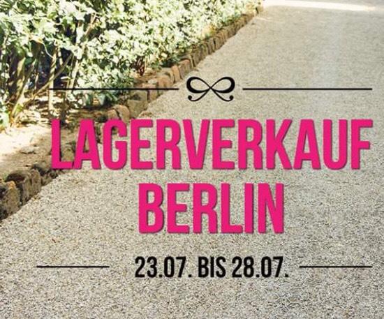 Hunkemöller Lagerverkauf Lokal Berlin - Alles für 2,50€ mit 4€ Eintritt