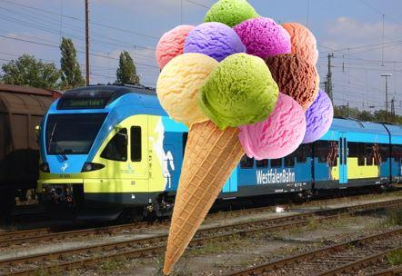 [Lokal Braunschweig Hannover Minden Bielefeld Osnabrück Rheine] Kostenloses Eis in Westfalenbahn RE60 und RE70 (FR, SA, DI)