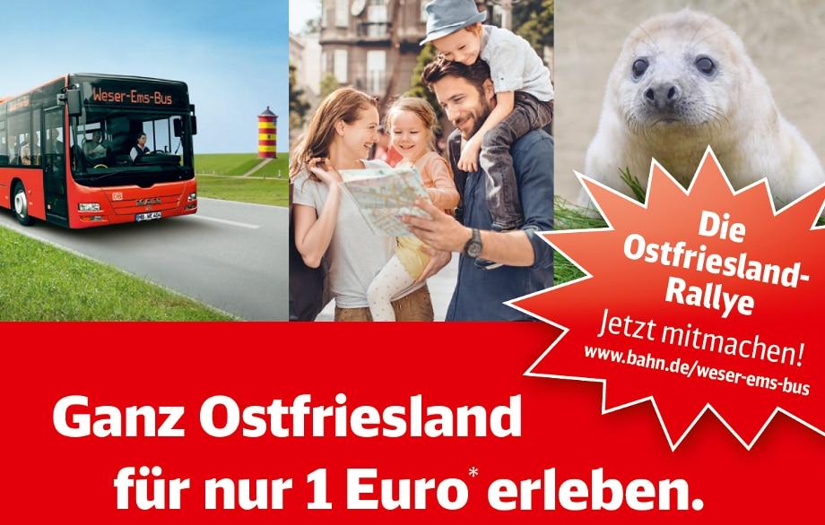 [Ostfriesland] Urlauberbus für 1 €