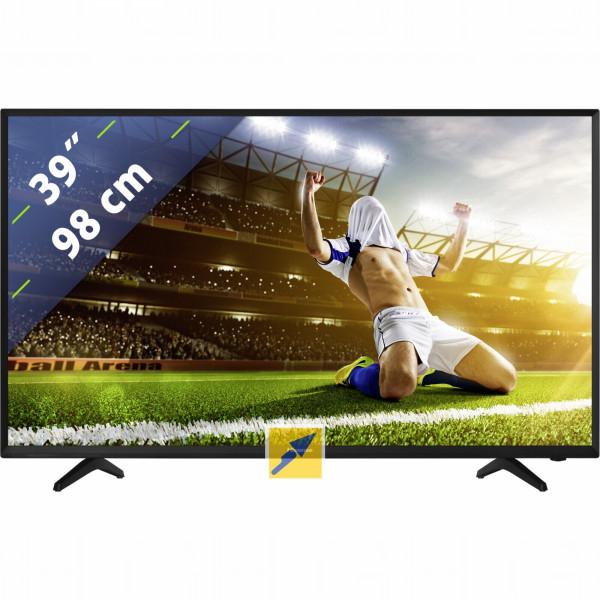 "[Technikdirekt] Hisense H39NEC2010S, LED-Fernseher schwarz, HDMI, SCART, VGA, USB 98 cm (39"") 1920x1080 Pixel 16:9"