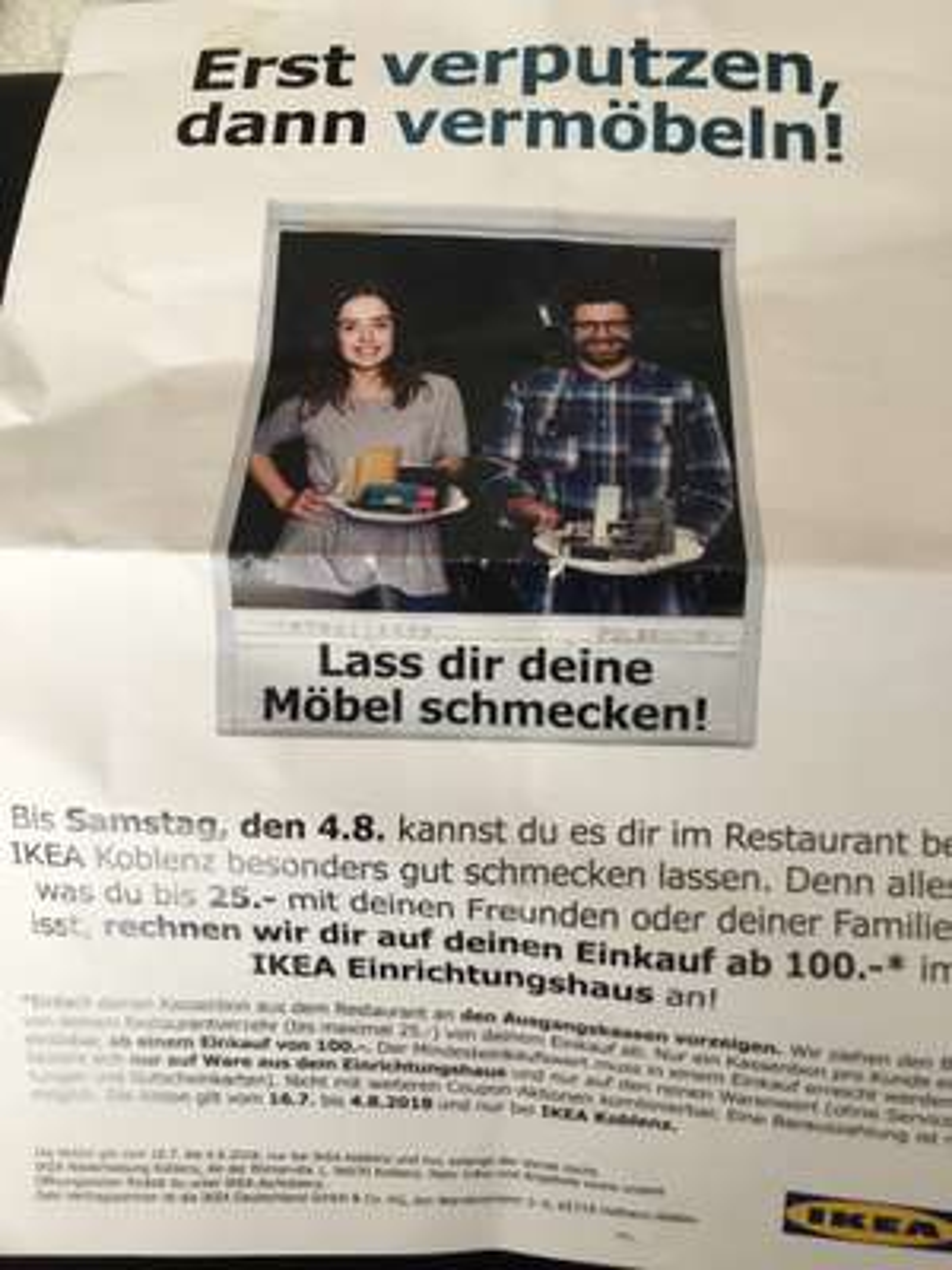 Ikea Koblenz: Lass dir deine Möbel schmecken