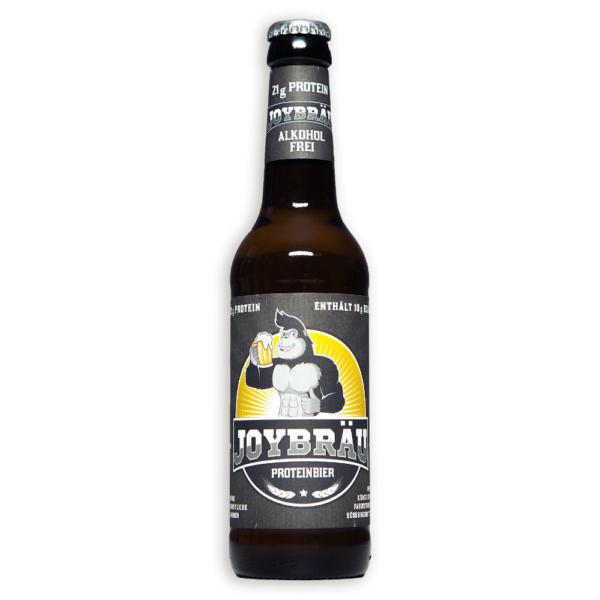 JoyBräu alkoholfreies Protein-Bier - 12 Flaschen für 25,67 Euro
