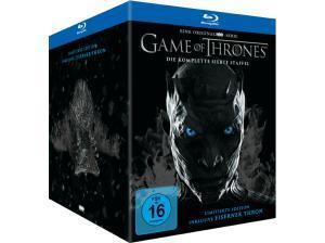 Game of Thrones: Die komplette siebte Staffel Limited Edition inkl. Mini Thron Figur (Blu-ray + 2 Bonus Blu-ray + UV Copy) für 39€ versandkostenfrei (Saturn)