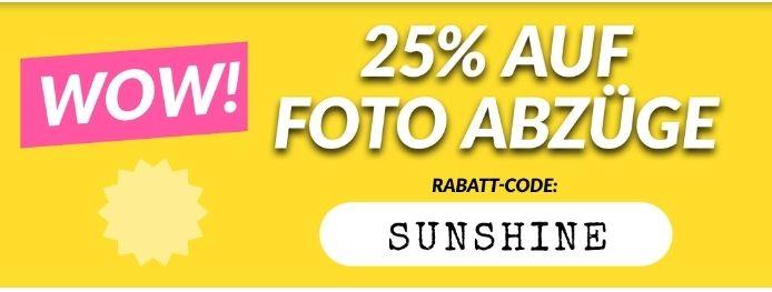 25% auf Fotoabzüge bei MyPostcard