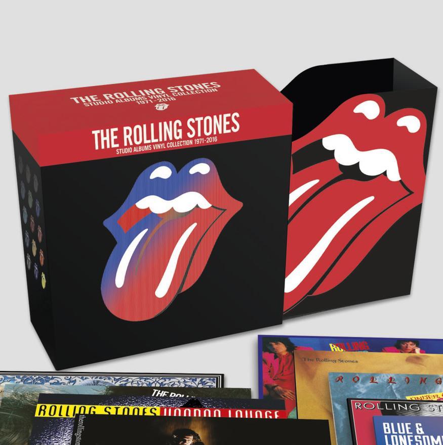 The Rolling Stones - Studio Albums Vinyl Collection 1971-2016 (saturn.de)