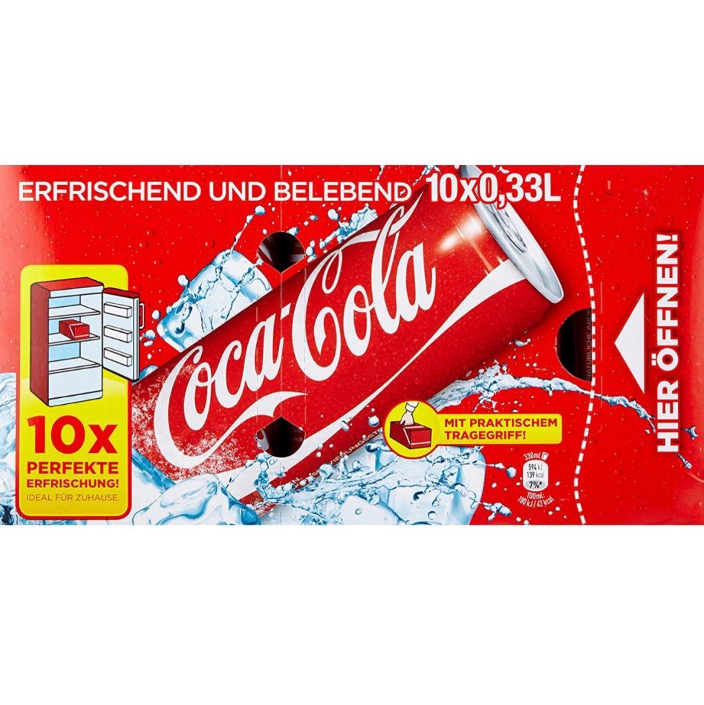 Rewe Coca Cola Friendspack - 10er Pack