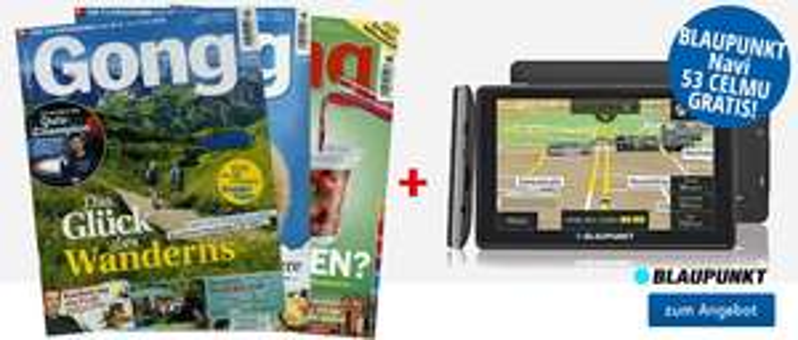 Jahresabo Zeitschrift GONG + 110 Euro-Zalando-Gutschein für 109,40€