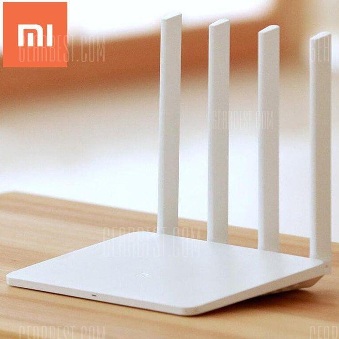 2x Xiaomi Mi WiFi Router 3 128MB | English Version für je 16,99€ inkl. Versand