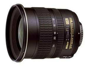Nikon 12-24mm f4G ED-IF AF-S DX Nikkor Objektiv für 690,33€ [Amazon.es]